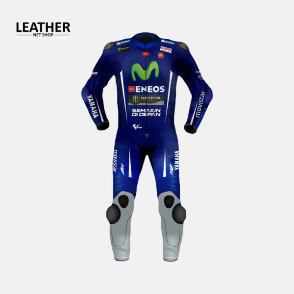 Maverick Vinales Yamaha Movistar Motogp Leather Suit