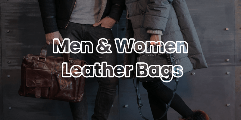 Men and women Leather Bags