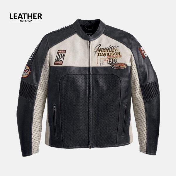Harley Davidson Men's Regulator Perforated Leather Jacket